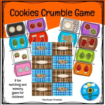 Cookies Crumble Matching and Memory Game