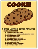 Cookies Kit One  - Themed Learning Center Activity Kit