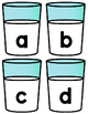 Cookies & Milk Letter ID and Beginning Sounds