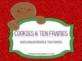 Cookies & Ten Frames Math Center