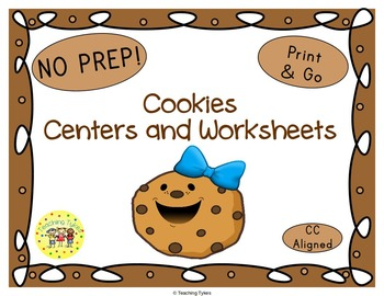 Cookies Worksheets Activities Games Printables and More
