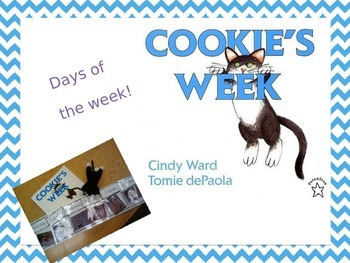 Cookie's Week Days of The Week Sequencing Activity