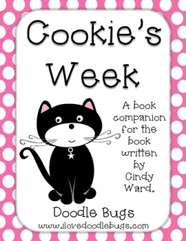 Cookie's Week: Book Companion Literacy & Reading Centers