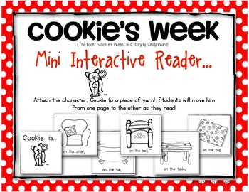 Cookie's Week {Mini Interactive Reader} Perfect for Young Readers!!