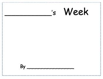 Cookie's Week Pattern Book