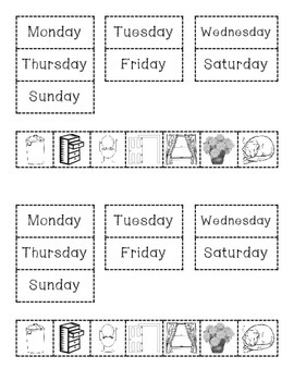 Cookies Week Sequence Organizer for Interactive Notebooks