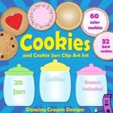 Cookies and Cookie Jars: Clip Art Set