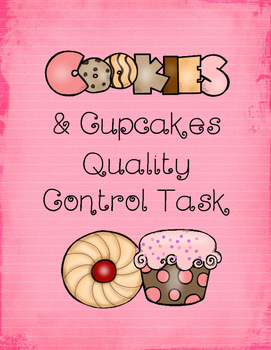 Cookies and Cupcakes Quality Control Task