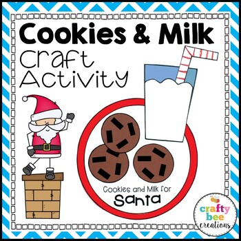 Cookies and Milk Cut and Paste