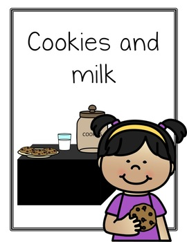 Cookies and Milk Dramatic Play Set