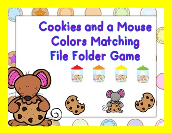 Cookies and a Mouse Colors Matching Game