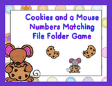 Cookies and a Mouse Numbers File Folder Game