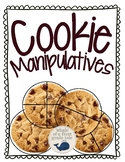 Cookies for Fractions Manipulatives