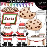 Cookies for Santa Clip Art - Christmas Clip Art