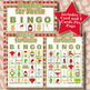 Cookies for Santa 5x5 Bingo 60 Cards