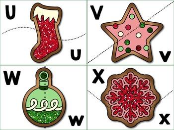 Cookies for Santa Alphabet Match