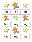 Cookies for Santa CVC word Game