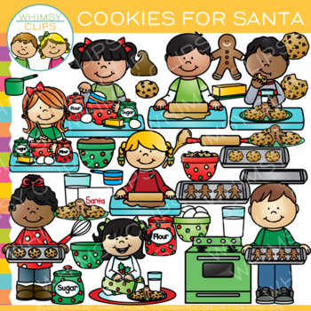 Cookies for Christmas Clip Art