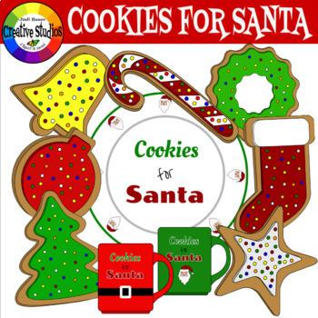 Cookies for Santa (Jodi Bauer Creative Studios Clipart)