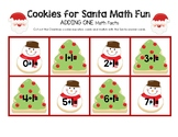 Cookies for Santa Math Fun Facts - Adding One