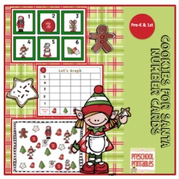 Cookies for Santa Number Cards
