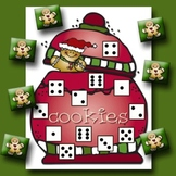 Cookies for Santa Number and Dice Center Game
