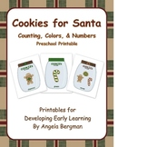 Cookies for Santa ~ Preschool Printable