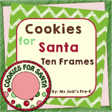 Cookies for Santa Ten Frames