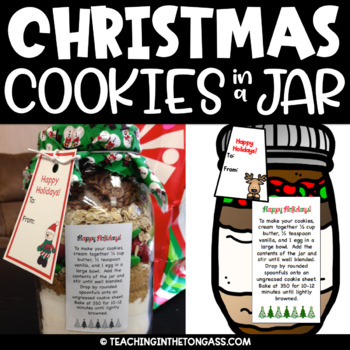 Cookies in a Jar Kit Free