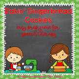 Bakin' Gingerbread Cookies: Easy Prep Game for Speech Therapy