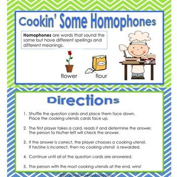 Cookin' Some Homophones