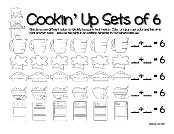 Cookin' Up Sets!  Addition Fun :)