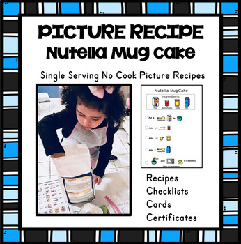 Visual Recipe (Picture Recipe Single Serving}