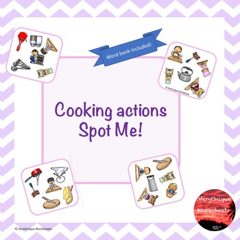 Cooking Actions Spot Me!