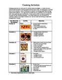 Cooking Activities For Fall and Early Winter