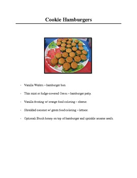 Cooking Activities for Special Education Classes