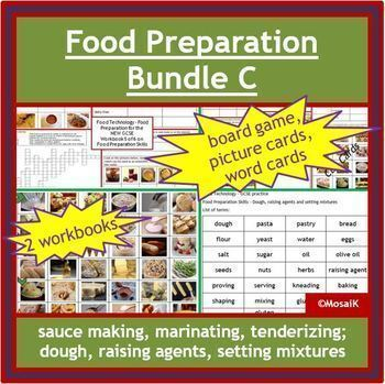Cooking: All-in-one BUNDLE of all resources in my Food Preparation Skills range