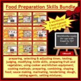 Cooking: All-in-one BUNDLE of all resources in my Food Pre