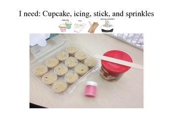 Cooking Birthday Theme- Birthday Cupcakes
