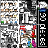 Cooking Clipart MEGA Set