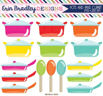 Cooking Clipart - Pots and Pans