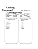 Cooking Compound Cooking Words