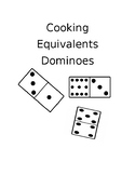 Cooking Equivalents Fractions Dominoes
