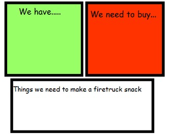 Cooking: Fire Truck Cracker Snack