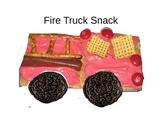 Cooking: Fire Truck Cracker Snack