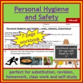 Cooking: Food and personal hygiene and safety - wkbk, substitution, homework...