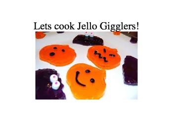 Cooking Halloween Theme- Jello Gigglers