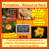 Cooking, Health, ESL: Pumpkin - Resource Pack; Halloween, Thanksgiving