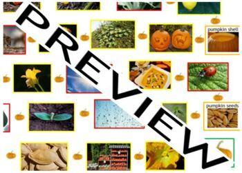 Cooking, Health, ESL: Pumpkin - Resource Pack; Halloween, Thanksgiving