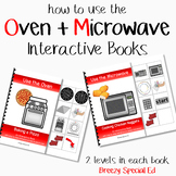 Cooking How to Books (Microwave and Oven) Interactive/Adap